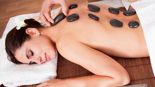 Стоун-массаж