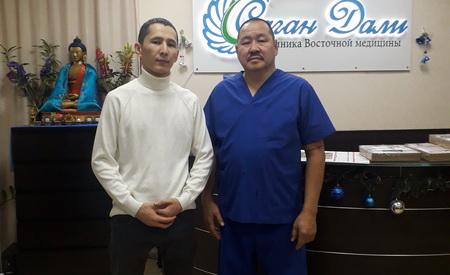 Отзыв Шамырзы Мусаевича о лечении болей в плечевом суставе. Доктор Цыденов Т.Б.